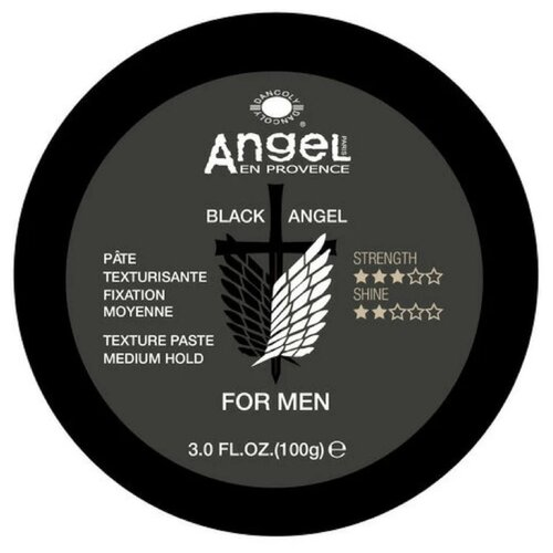 Angel Provence Паста Black Angel For Men, средняя фиксация, 100 г