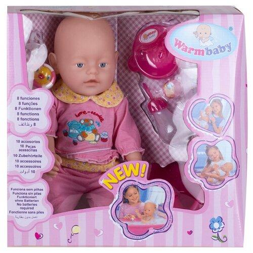 Фото - Интерактивный пупс Oubaoloon, 32 см, 8003-3 интерактивный пупс joy toy маленькая ляля 058 19r