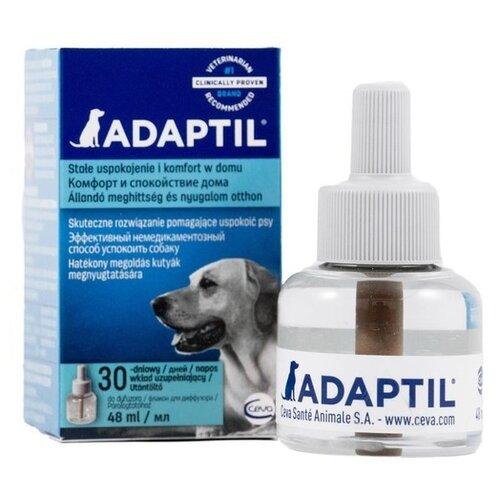 Сева Адаптил для собак сменный флакон, 48 мл