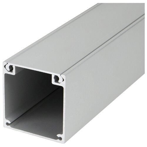 Профиль Arlight BOX52-2000 ANOD серый профиль arlight alu power w35s 2000 anod frost серый