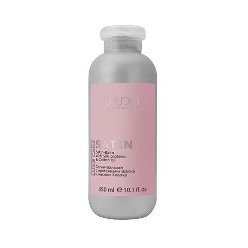 Купить Kapous Professional сатин-бальзам для волос Studio Professional Luxe Care с протеинами шелка и маслом хлопка, 350 мл