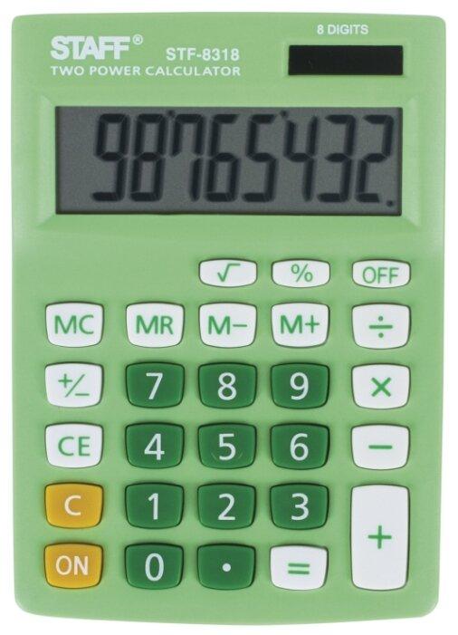 Калькулятор бухгалтерский STAFF STF-8318