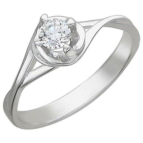 Эстет Кольцо с 1 фианитом из серебра 01К155750, размер 16 эстет кольцо с 1 фианитом из серебра 01к155750 размер 16 5