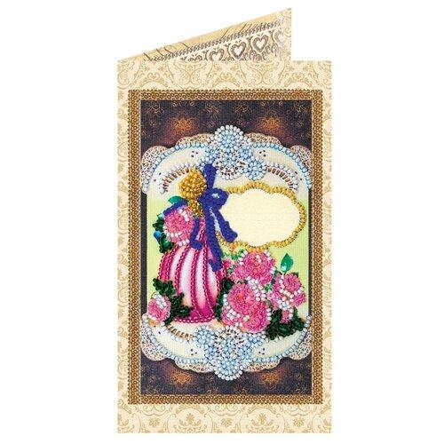 ABRIS ART Набор для вышивания бисером Подарок для любимой 8.4 х 14 см (AO-123)