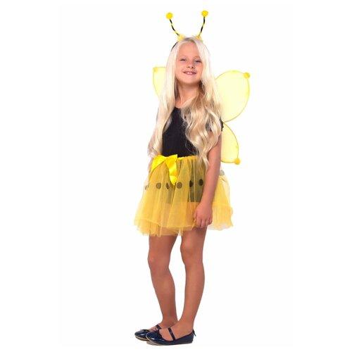 Купить Костюм ВКостюме.ру Пчелка (3101908), желтый, размер 119, Карнавальные костюмы