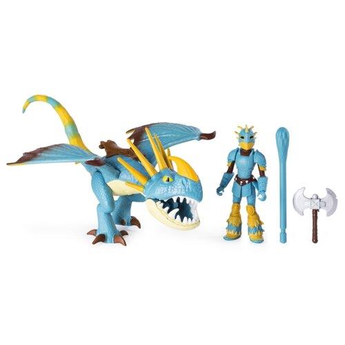 Купить Игровой набор Spin Master Dragons Астрид и Громгильда 6052269, Игровые наборы и фигурки