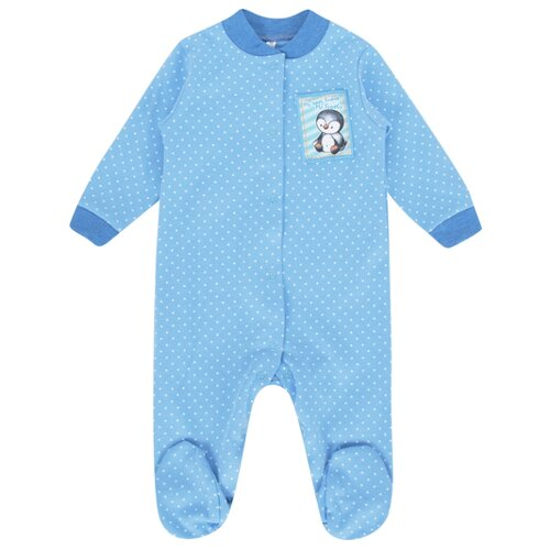 Купить Комбинезон Leader Kids размер 68, голубой, Комбинезоны