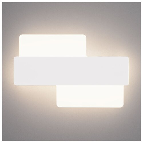 Настенный светильник Eurosvet Bona 40142/1 LED белый, 11 Вт светильник настенный eurosvet screw 40136 1 6w белый