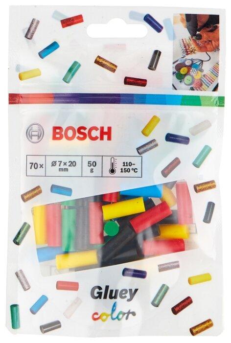 BOSCH Gluey Color 7х20 мм, 70 шт