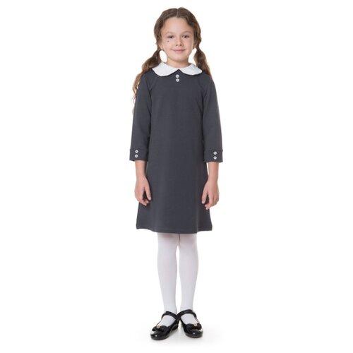 Платье ALENA размер 140-146, темно-серый