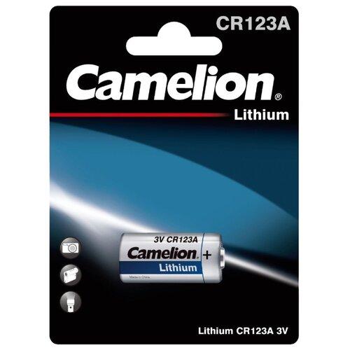 Фото - Батарейка Camelion CR123A, 1 шт. батарейка camelion lr23a 1 шт