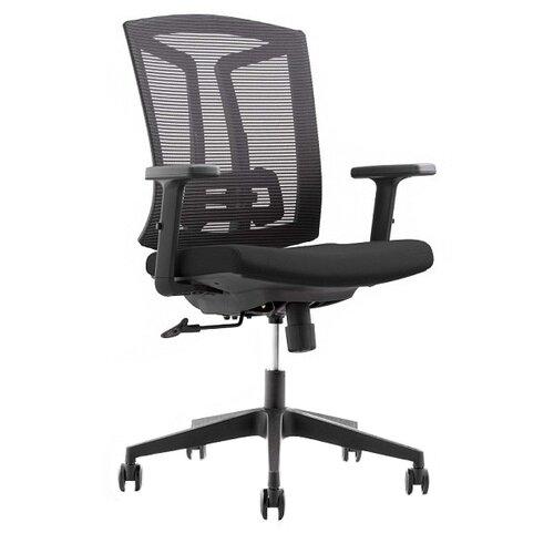 Компьютерное кресло College CLG-425 MBN-B офисное, обивка: текстиль, цвет: черный компьютерное кресло college clg 619 mxh b офисное обивка текстиль цвет бежевый