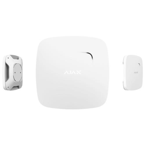 Пожарный извещатель AJAX FireProtect белый охранная gsm система ajax ajax ajax fireprotect plus white