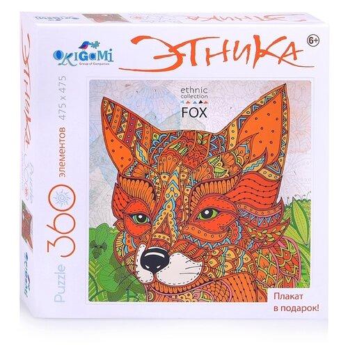 Купить Пазл Origami Арт-терапия Лиса (04133), 360 дет., Пазлы