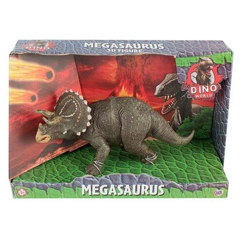 Купить HTI Dino World Megasaurus Трицератопс 1374171.UNID, Игровые наборы и фигурки