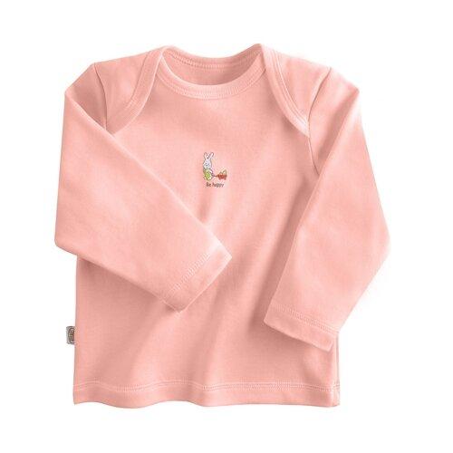Купить Лонгслив Наша мама размер 68, розовый, Футболки и рубашки