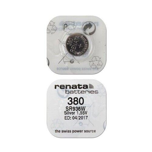 Фото - Батарейка Renata 380, 1 шт. батарейка renata 394 10 шт