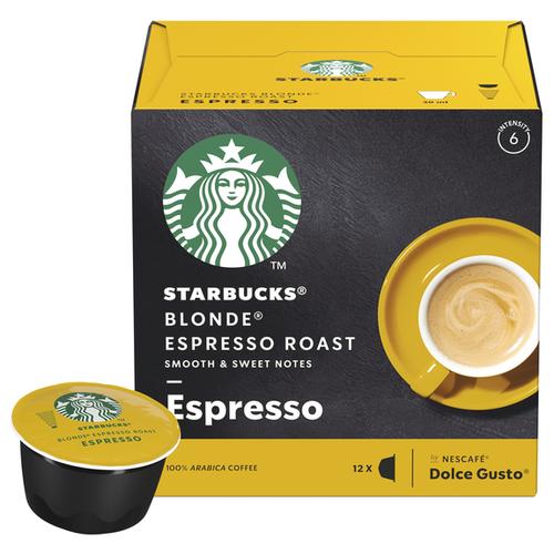 цена на Starbucks Blonde® Espresso Roast (12 капс.)
