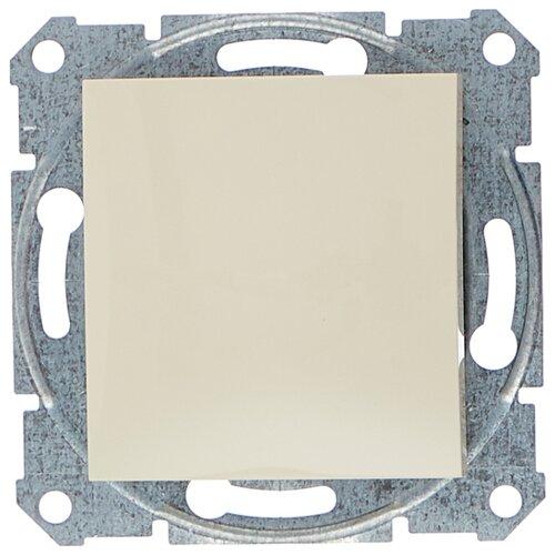 Выключатель 1-полюсный Schneider Electric SEDNA SDN0100147,10А, бежевый фото