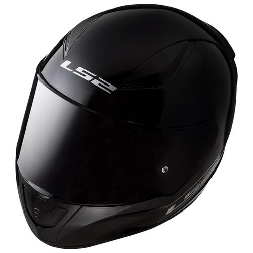 Шлем LS2 FF353 RAPID SINGLE MONO Gloss Black (L, Gloss Black)