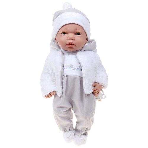 Купить Интерактивный пупс Arias Elegance в серой одежде, 38 см, Т16349, Куклы и пупсы