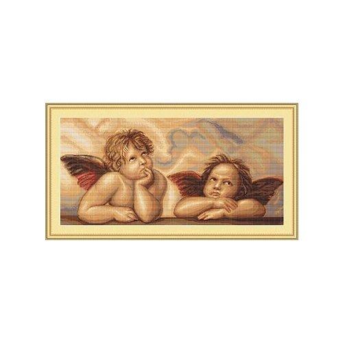 Набор для вышивания Ангелочки, Luca-S
