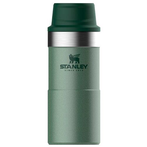 Термокружка STANLEY Classic One Hand 2.0 (0,35 л) зеленый