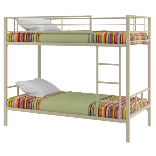 Двухъярусная кровать Redford Севилья-2, размер (ДхШ): 198х96 см, спальное место (ДхШ): 190х90 см, каркас: металл, цвет: бежевый