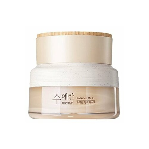 The Saem ночная маска Sooyeran Radiance для сияния кожи, 80 мл мист для увлажнения кожи luminous real radiance mist 105 мл the saem eco soul