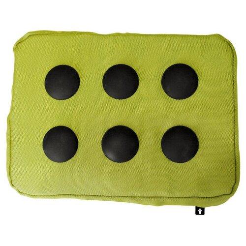 Подставка для ноутбука Bosign Surfpillow Hightech, зеленый/черный
