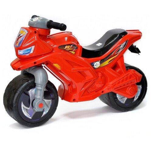 Каталка-толокар Orion Toys Мотоцикл 2-х колесный (501В3) красный каталка толокар orion toys мотоцикл 2 х колесный 501 зеленый
