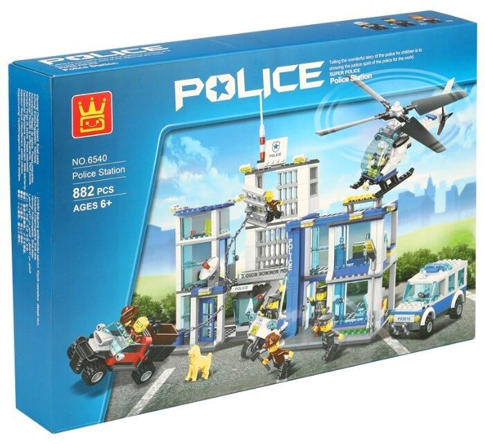 Конструктор Wange Police 6540 Полицейcкий участок