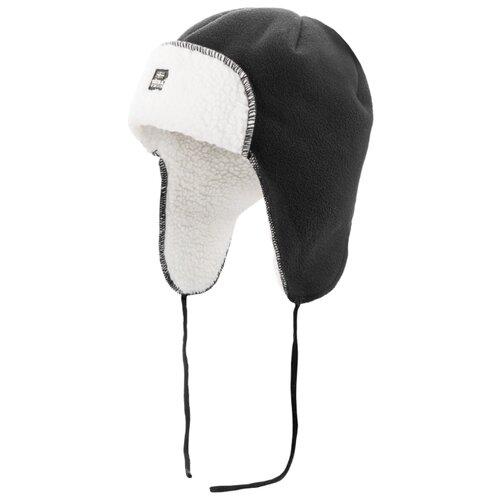 Купить Шапка-ушанка Satila размер 58, черный/белый, Головные уборы