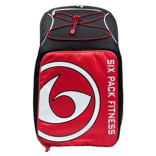 Six Pack Fitness Рюкзак Pursuit Backpack 500 черный/красный/белый 38 л