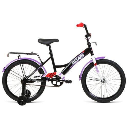 """Детский велосипед ALTAIR Kids 20 (2020) черный 13"""" (требует финальной сборки)"""