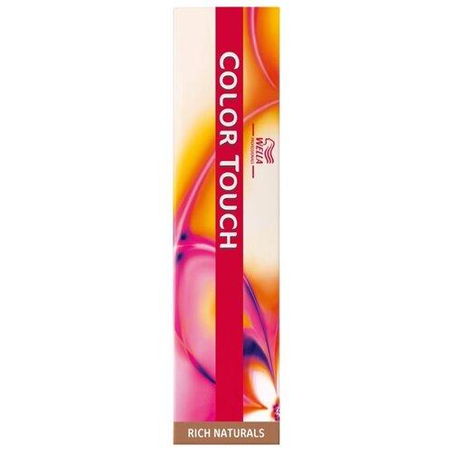 Wella Professionals Color Touch Rich Naturals крем-краска для волос, 60 мл, 6/37 темный блонд золотисто-коричневый