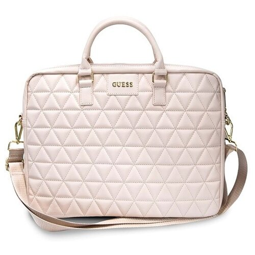 Сумка Guess Quilted Bag 15 pink сумка guess hwvc50 42180 bla