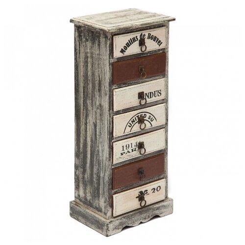 Комод Secret de Maison Bouvet (M-6456) , размер: 33х22 см , цвет: коричневый