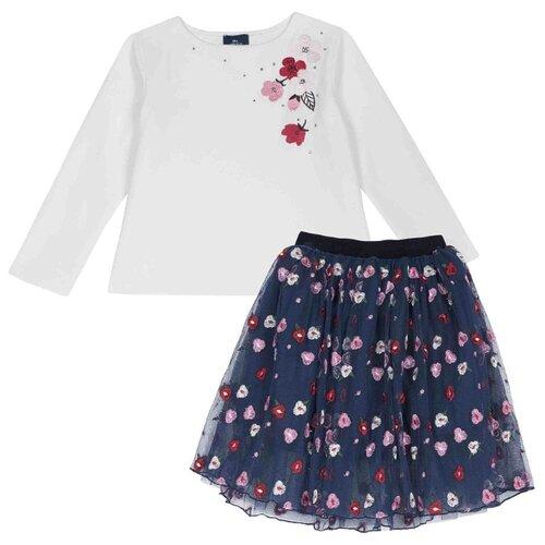 Купить Комплект одежды Chicco размер 98, синий, Комплекты и форма