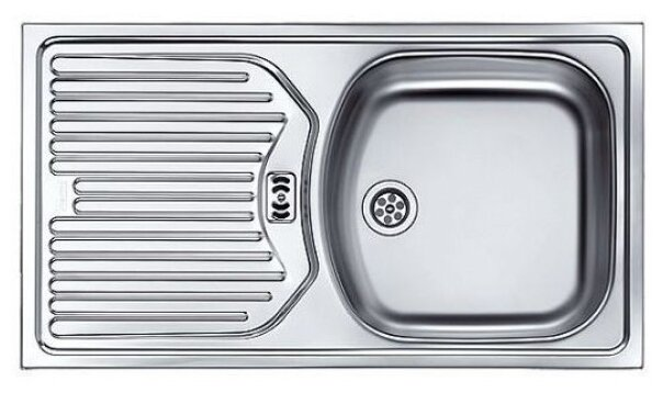 "Врезная кухонная мойка FRANKE ETN 614 1.5"" 78х43.5см нержавеющая сталь"