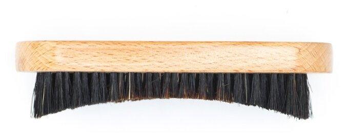 Щетка для бороды DEWAL CO-29 Barber Style, натуральная щетина, 9-рядная