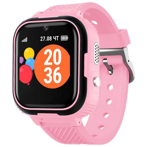 Детские умные часы c GPS GEOZON JUNIOR розовый детские умные часы c gps geozon active розовый