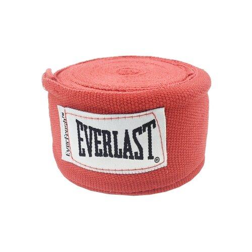Кистевые бинты Everlast 4464 3,5 м красный