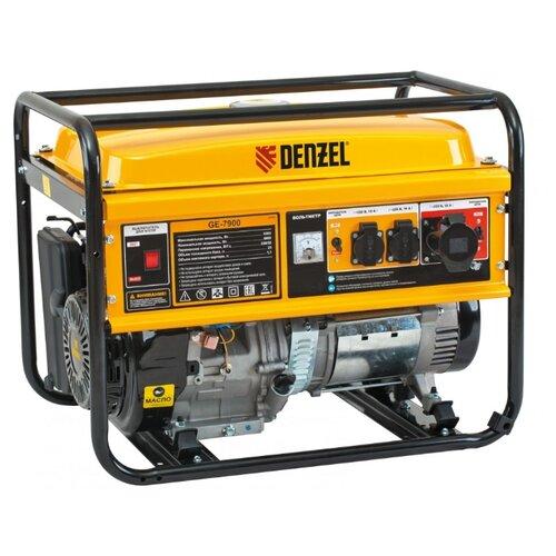 Бензиновый генератор Denzel GE7900 (6000 Вт) акафист святому иоанну предтече