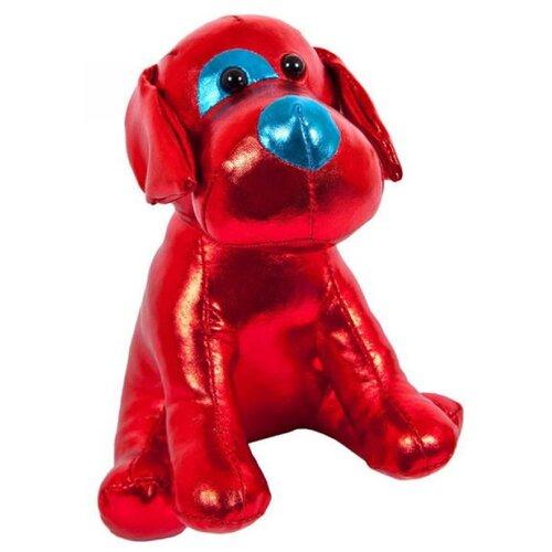 Фото - Мягкая игрушка ABtoys Металлик Собака красная 15 см мягкая игрушка abtoys собака m2032 14 см