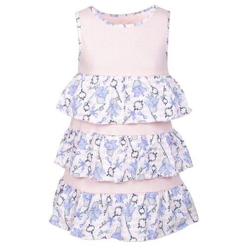 Купить Платье M&D размер 116, пудра, Платья и сарафаны