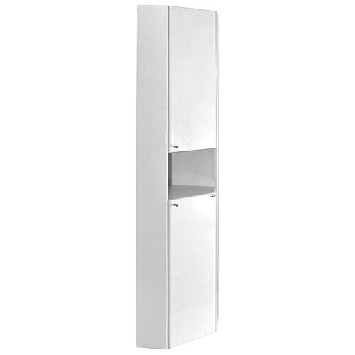 Шкаф-пенал для ванной Mixline Ларч 36*36, (ШхГхВ): 36х36х185 см, белый