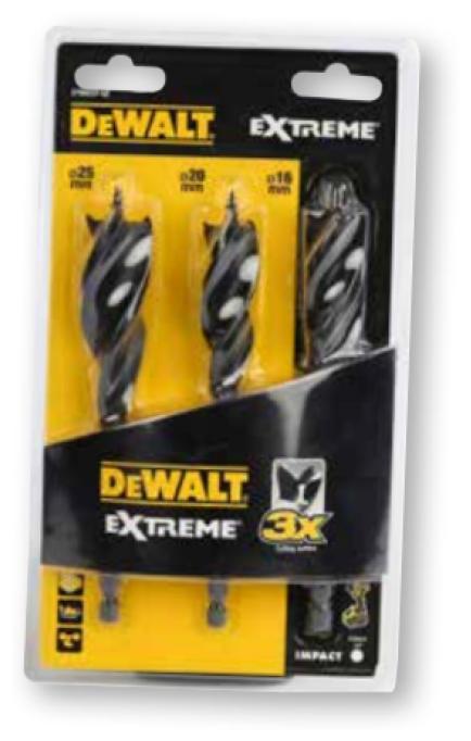 Набор сверл DeWALT Extreme Impact DT90237