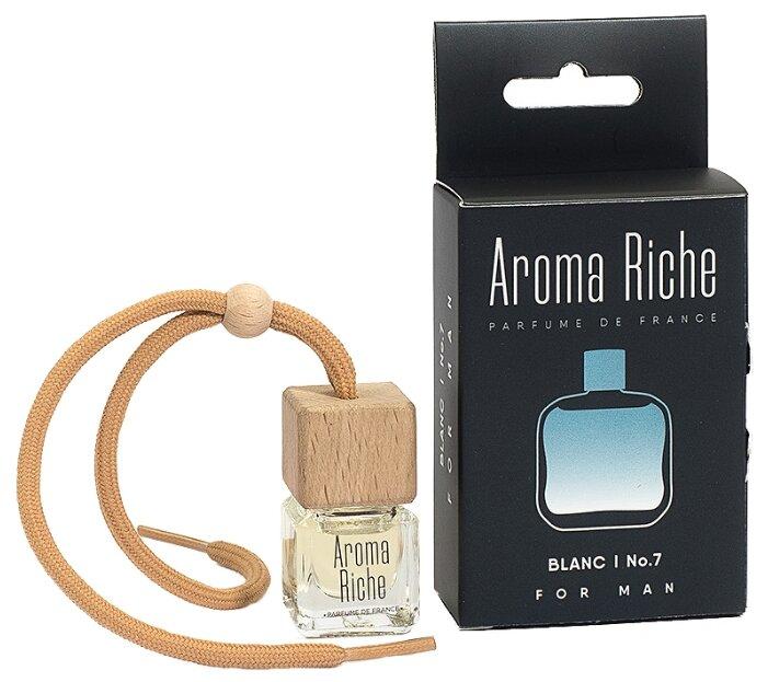 Автолидер Ароматизатор для автомобиля, Aroma Riche мужской, Blanc №7 5 мл