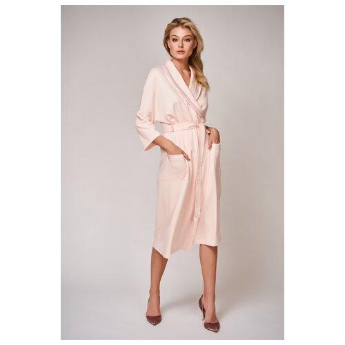 Халат Laete размер L(48) персиковый розовый платье oodji цвет персиковый 14001182b 47420 5400n размер l 48